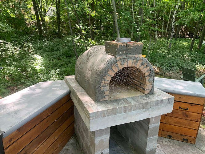 Make Your Own Wood Fired Pizza Oven (9)