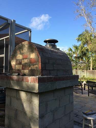 Building An Outdoor Oven (13)