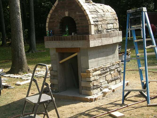 How To Make An Outdoor Pizza Oven (66)