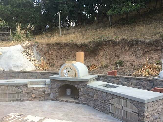 Pizza Oven Over Fireplace (22)
