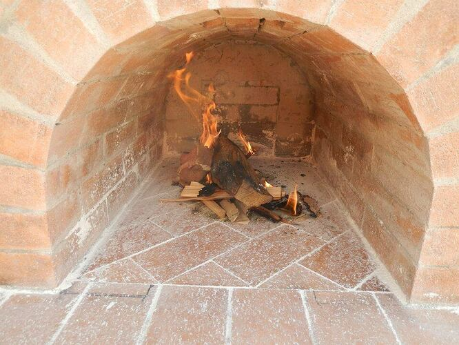 Build Your Own Brick Pizza Oven (34)