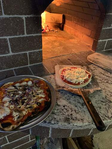 Combination Grill Smoker Pizza Oven (16)