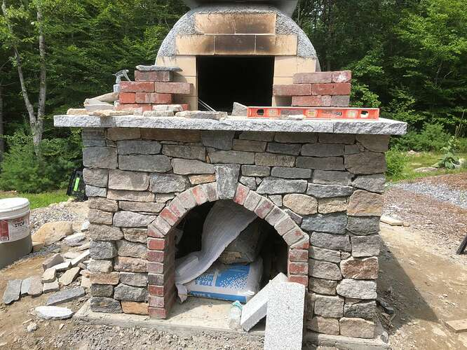 How To Build A Wood Fired Pizza Oven (75)