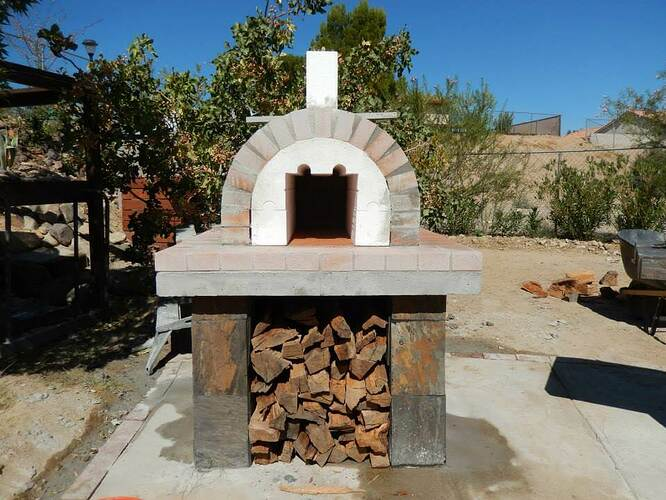 Build Your Own Brick Pizza Oven (20)