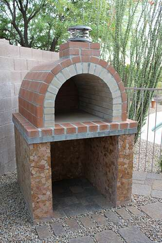 How To Build a Wood Fired Brick Oven (19)