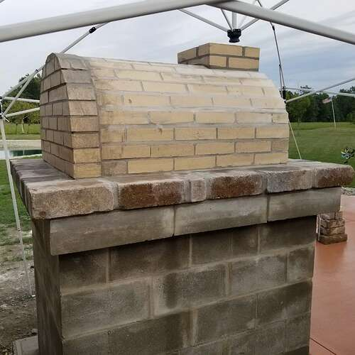 How To Make A Brick Oven (6)