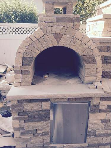 Outdoor Fireplace and Pizza Oven (4)