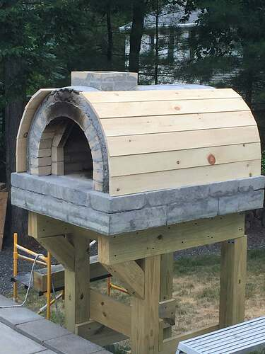 Building a Wood Fired Pizza Oven (39)