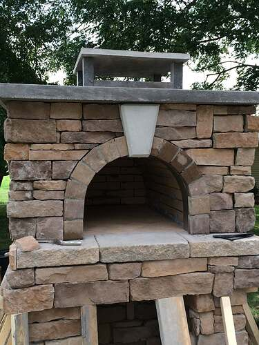 Making An Outdoor Pizza Oven (31)