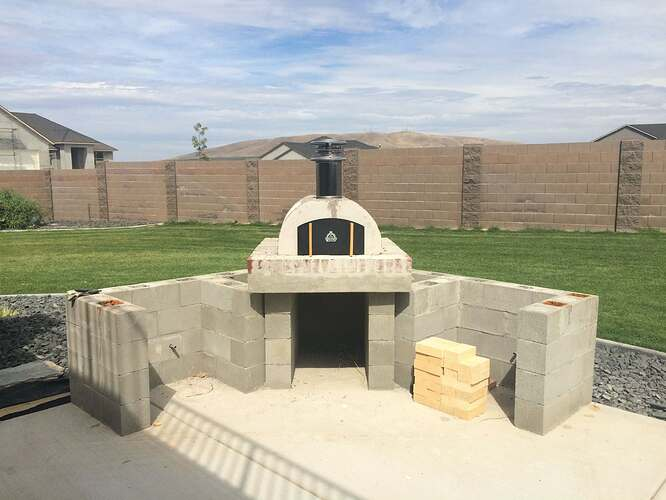 How To Build A Wood Fired Oven (22)