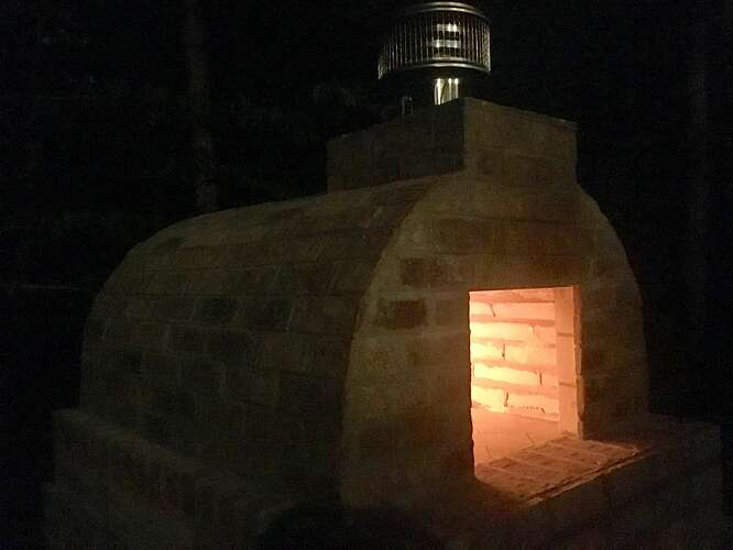 Wood Fired Brick Oven (136)