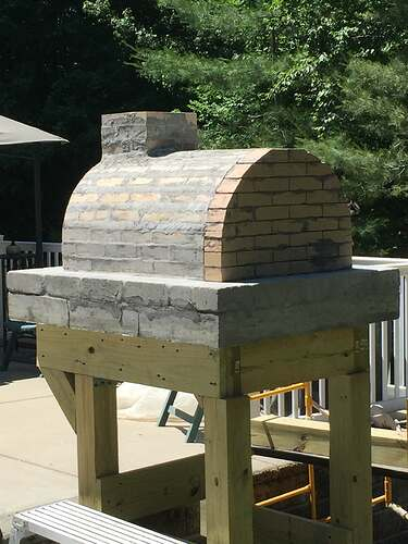 Building a Wood Fired Pizza Oven (25)