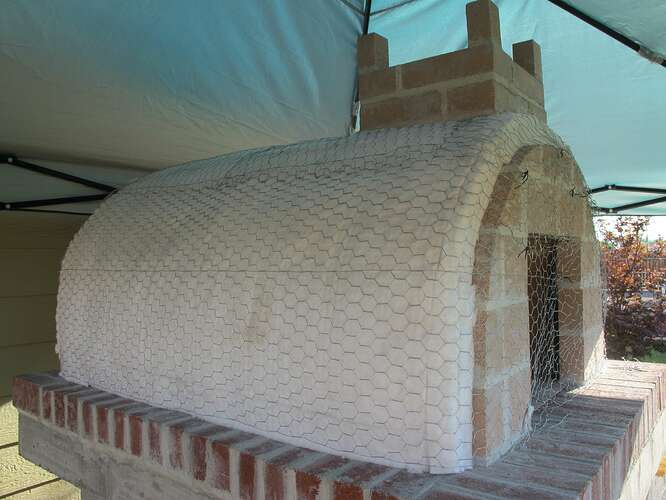 How To Pizza Oven Build (19)
