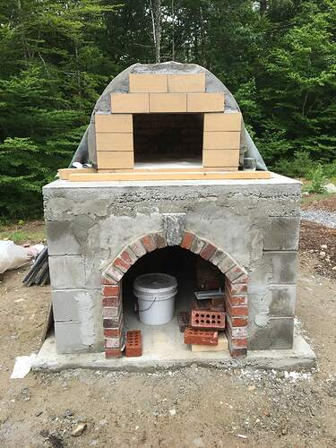 How To Build A Wood Fired Pizza Oven (59)