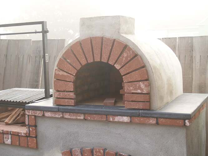 How To Build a Brick BBQ and Pizza Oven (20)