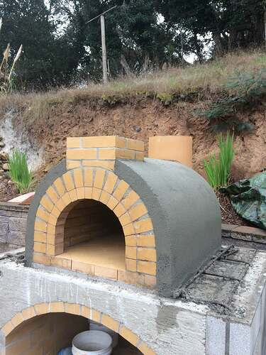 Pizza Oven Over Fireplace (9)