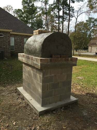 How To Build a Brick Oven (25)