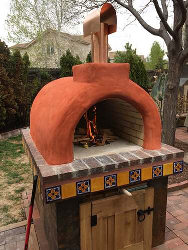 Homemade Outdoor Pizza Oven