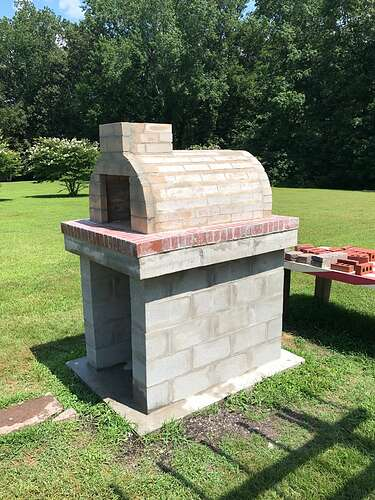 How To Build a Pizza Oven at Home (50)