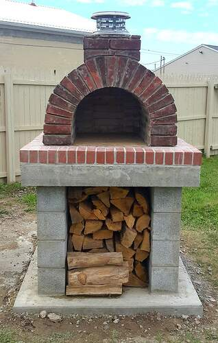 Making An Outdoor Oven (30)