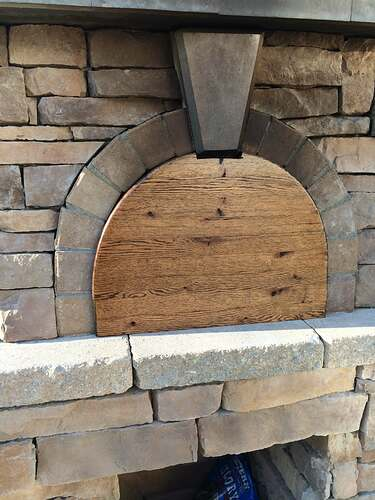 Making An Outdoor Pizza Oven (41)