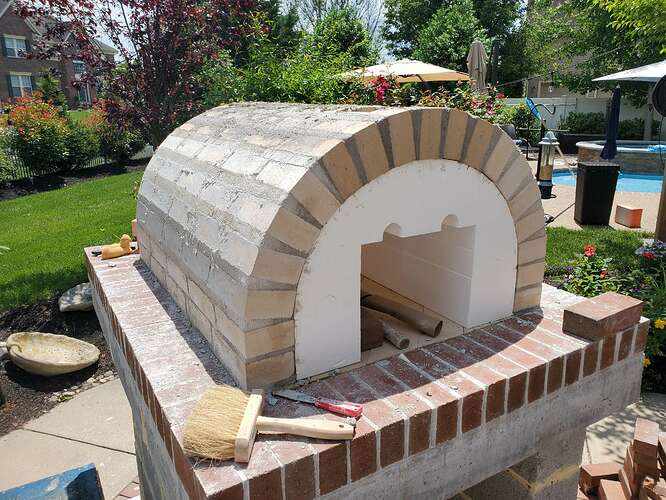 Home Wood Fired Pizza Oven (13)
