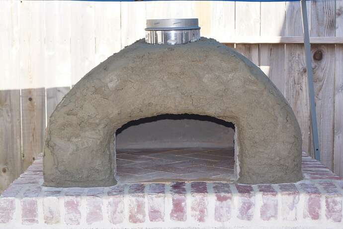 Refractory Cement Pizza Oven (111)