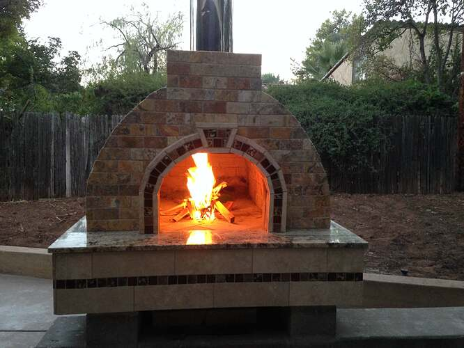 Italian Wood Fired Pizza Oven (11)