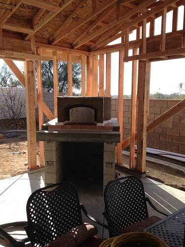Outdoor Kitchen With Pizza Oven (6)