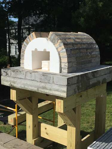 Building a Wood Fired Pizza Oven (17)