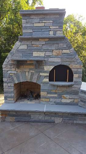 Outdoor Fireplace Plans (12)