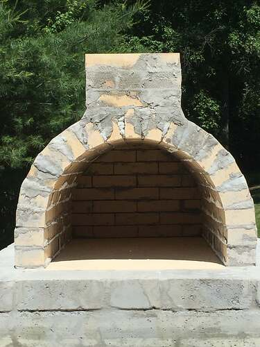 Building a Wood Fired Pizza Oven (26)