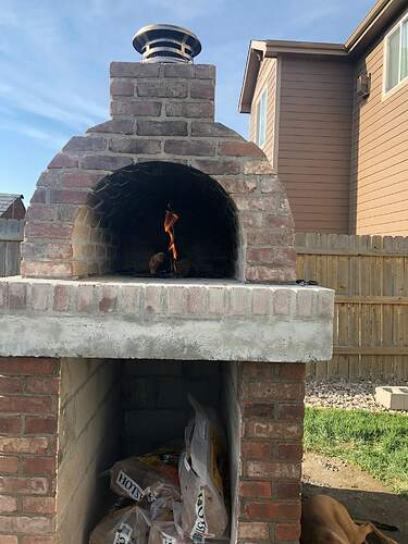 Building An Outdoor Wood Fired Oven (34)