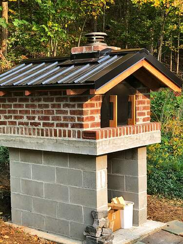 Large Outdoor Wood Burning Pizza Oven