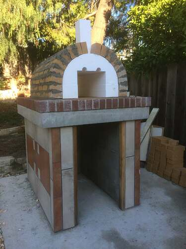 How To Make A Garden Pizza Oven (11)