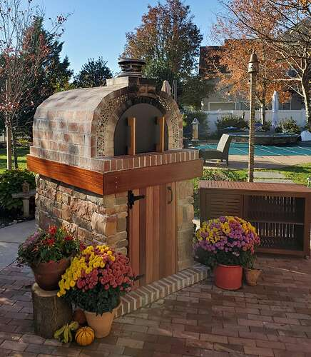 Home Wood Fired Pizza Oven (28)