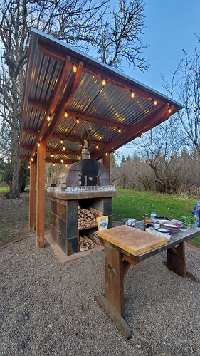 Outdoor Wood Burning Pizza Oven (32)