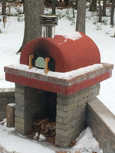 Do It Yourself Pizza Oven