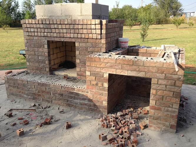 Large Outdoor Fireplace (6)