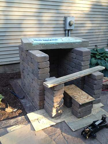 How To Build An Outdoor Brick Oven (46)
