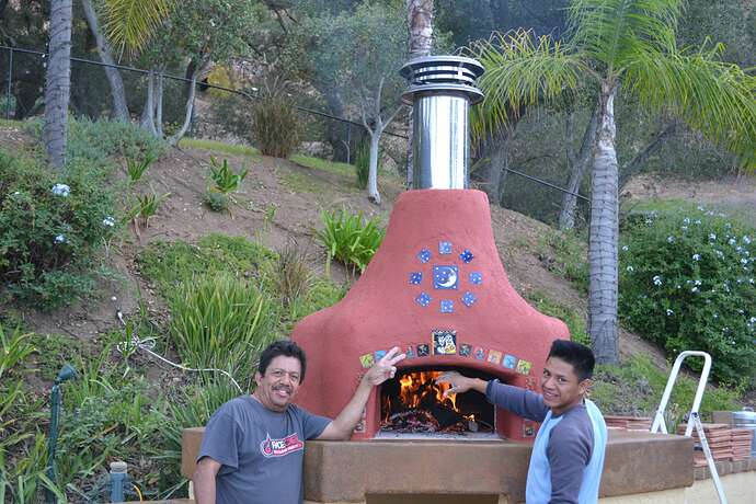 Wood Fire Pizza Oven (92)