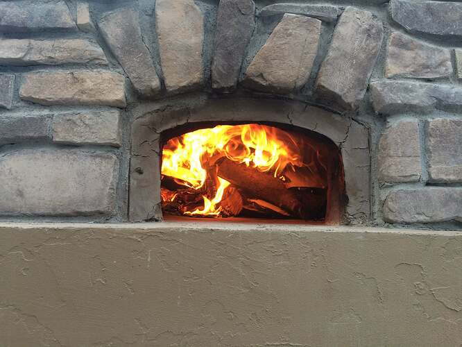 How To Build A Wood Fired Oven (32)