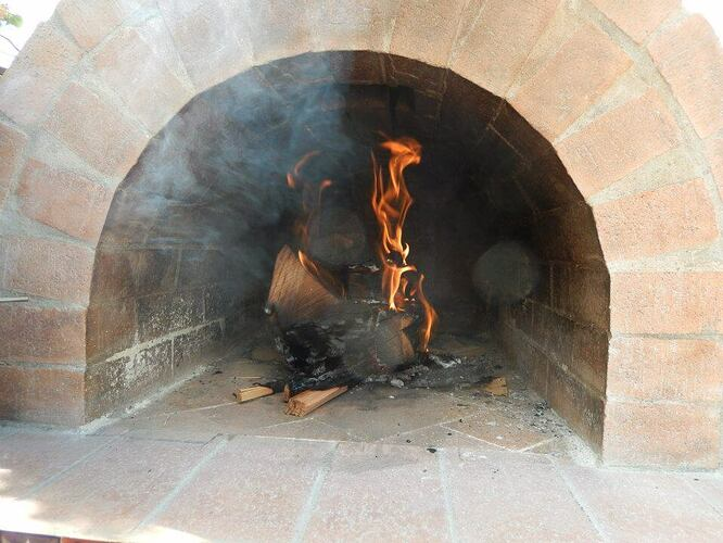 Build Your Own Brick Pizza Oven (35)