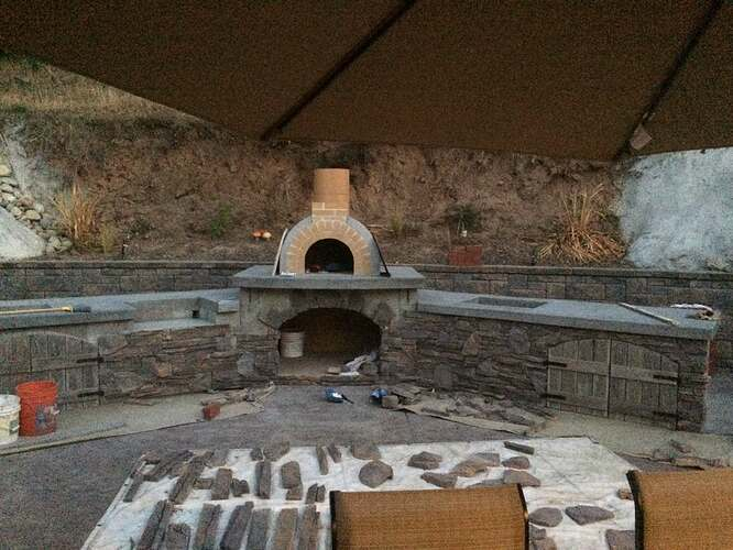 Pizza Oven Over Fireplace (21)