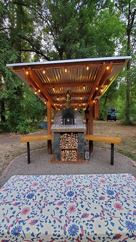 Outdoor Wood Burning Pizza Oven (34)