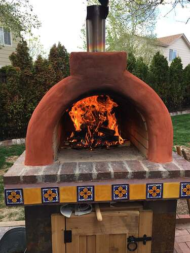 Homemade Outdoor Pizza Oven (45)