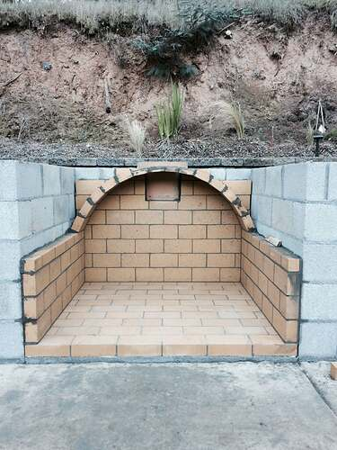 Pizza Oven Over Fireplace (2)