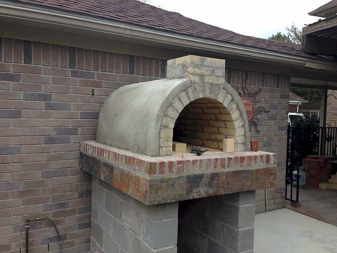 How To Make A Brick Pizza Oven (6)
