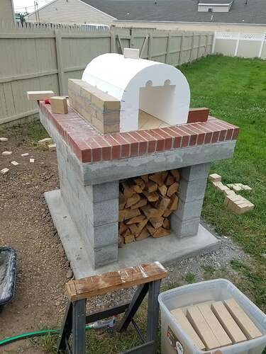 Making An Outdoor Oven (15)