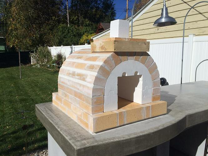 Building A Brick Pizza Oven From Scratch (48)